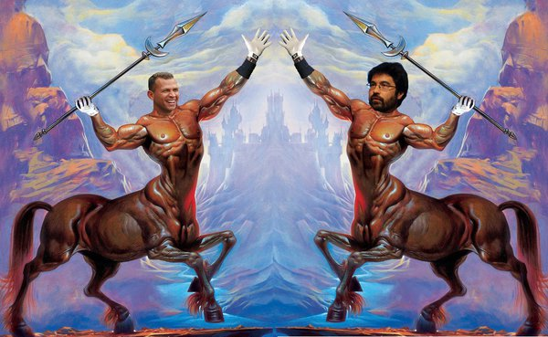 Alex Rodriguez vs @gregpak in the Centaur Civil War on Twitpic