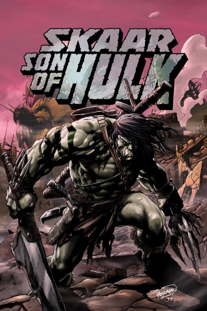 Skaar Son of Hulk cover