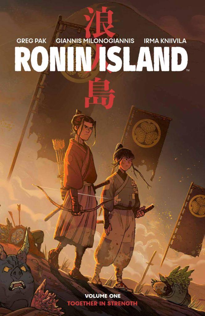 Ronin Island #1 cover