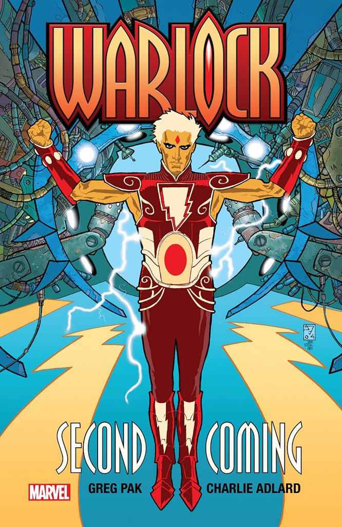 Warlock trade paperback cover
